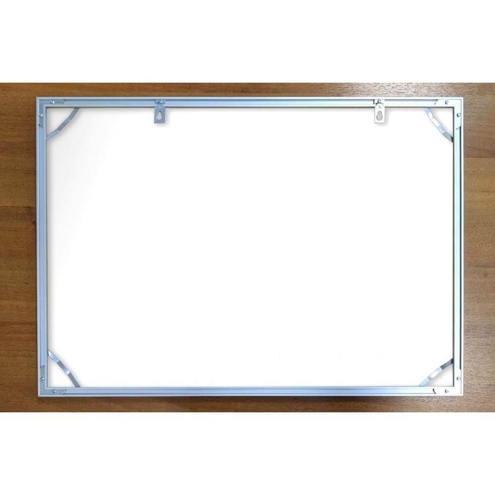 План эвакуации 60x40 см (А2) этажный на фотолюминесцентном пластике  в рамке